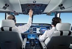 кабина пилотов МС-21