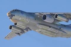 ПД14 под крылом Ил76